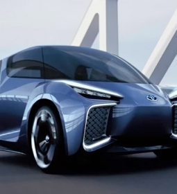 Rhombus: New e-car from Toyota